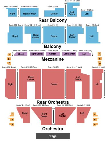 Orpheum theatre tickets and orpheum theatre seating chart buy