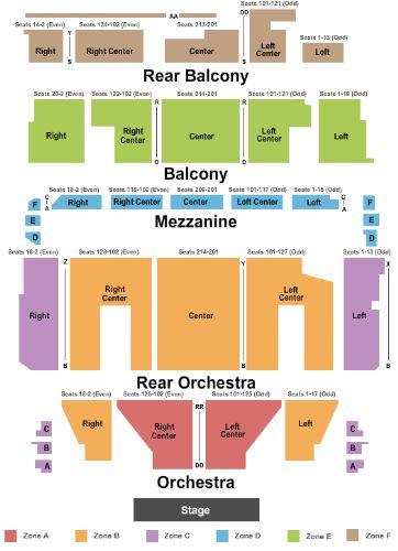 Orpheum Theater Boston Seating Chart Big Lots Shawnee Ok