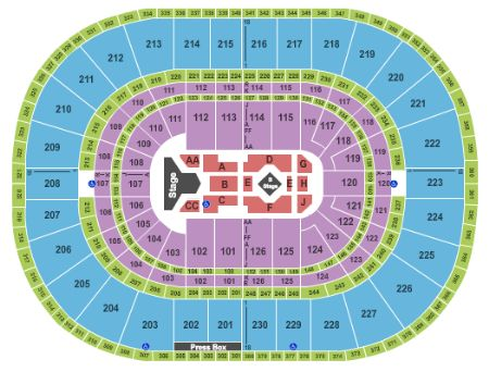 Palace of auburn hills tickets and palace of auburn hills seating