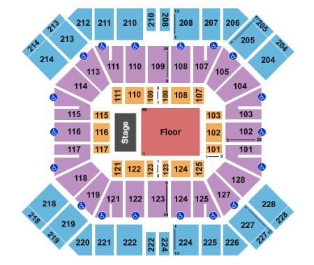 Pan American Center Tickets And Pan American Center Seating Chart Buy Pan American Center Las Cruces Tickets Nm At Stub Com