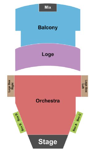 Paramount Theater Seattle Map.Paramount Theatre Tickets And Paramount Theatre Seating Chart Buy