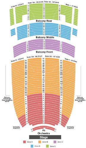 Paramount theatre tickets and paramount theatre seating chart buy