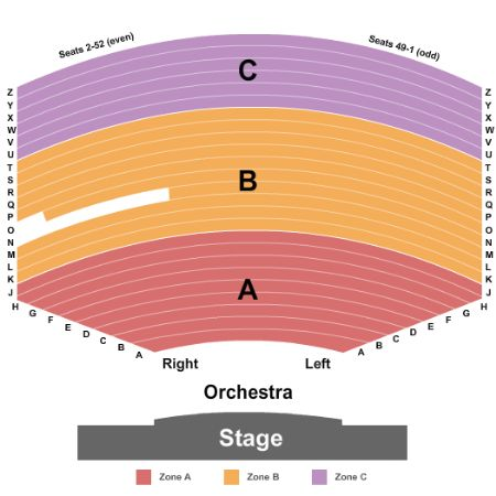 Parker playhouse tickets and parker playhouse seating chart buy