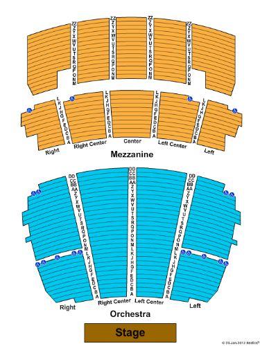 Peabody opera house tickets and peabody opera house seating chart
