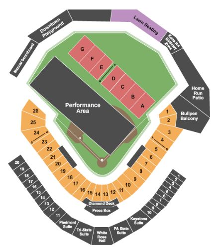 Peoplesbank Park Tickets And Peoplesbank Park Seating Chart Buy Peoplesbank Park York Tickets Pa At Stub Com