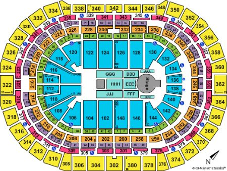 Pepsi center tickets and pepsi center seating chart buy pepsi