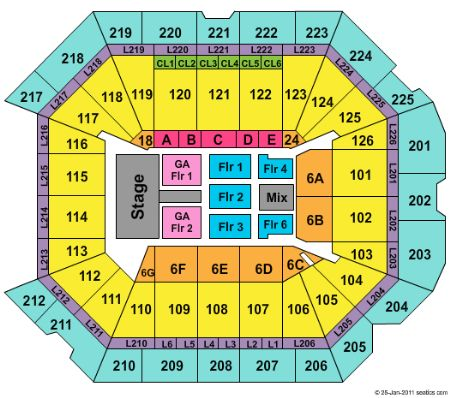 Petersen events center tickets and petersen events center seating