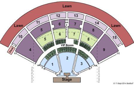 Top 10 Punto Medio Noticias Pnc Pavilion Charlotte Seat Map
