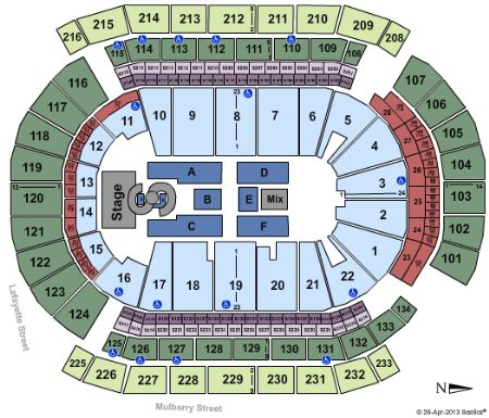 Prudential center tickets and prudential center seating chart buy