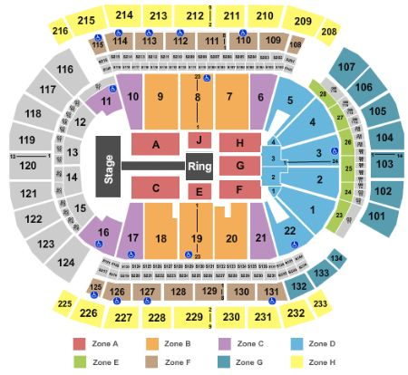 Prudential center tickets and prudential center seating chart