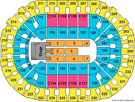 Quicken loans arena tickets and quicken loans arena seating chart