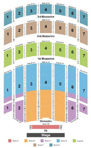 Radio city music hall tickets and radio city music hall seating