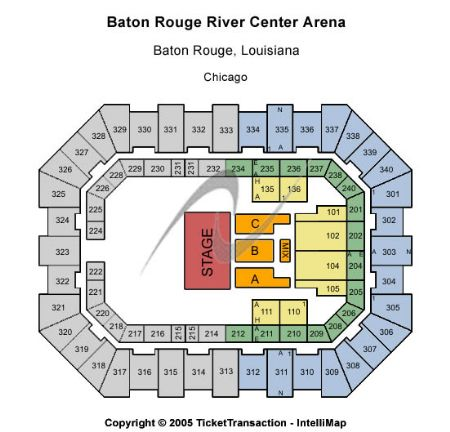 Raising Cane S River Center Arena Tickets And Raising Cane S River Center Arena Seating Chart Buy Raising Cane S River Center Arena Baton Rouge Tickets La At Stub Com