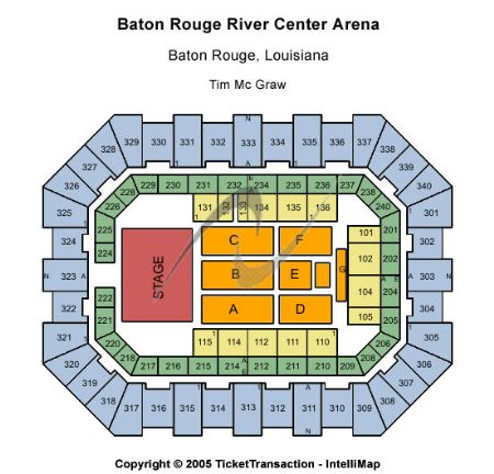 Raising Cane S River Center Arena