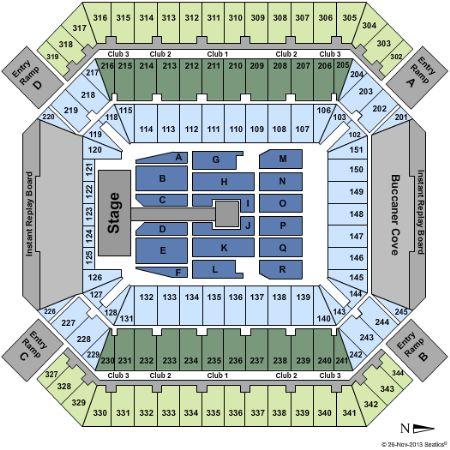 Raymond james stadium tickets and raymond james stadium seating