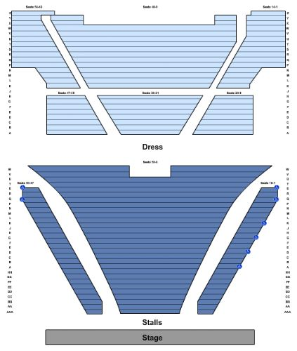 Regent Theatre Seating Map Regent Theatre Tickets and Regent Theatre Seating Chart   Buy  Regent Theatre Seating Map