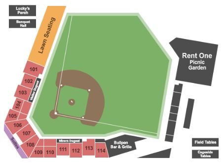 Rent One Park Tickets And Rent One Park Seating Chart Buy Rent One Park Marion Tickets Il At Stub Com