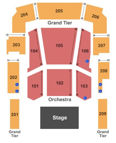 Revention Music Center Tickets And Revention Music Center Seating