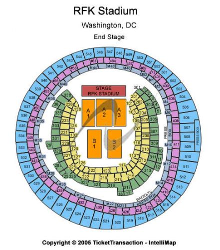 Rfk stadium tickets and rfk stadium seating chart buy rfk