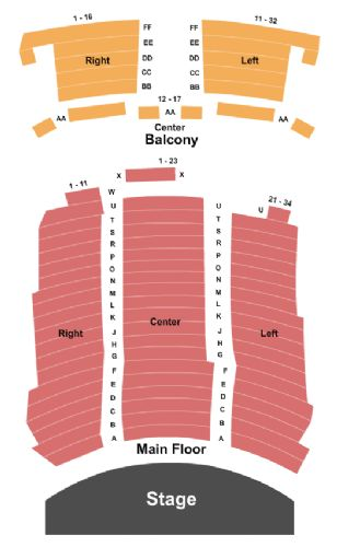 Rialto Theatre Tickets And Rialto Theatre Seating Chart