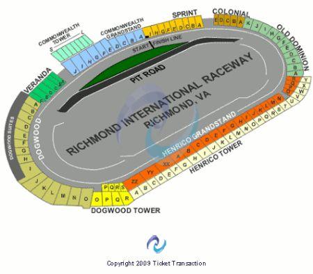 Richmond international raceway tickets and richmond international