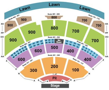 Riverbend music center tickets and riverbend music center seating