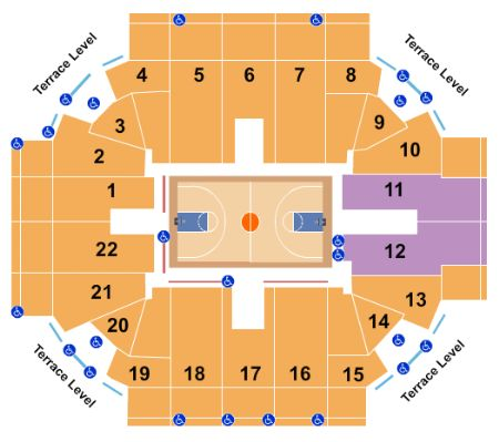 Robins Center Tickets And Robins Center Seating Chart Buy Robins Center University Of Richmond Tickets Va At Stub Com