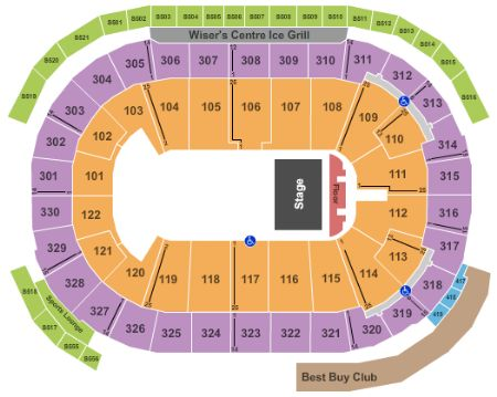 Rogers Arena Seating Canucks Today S Deals