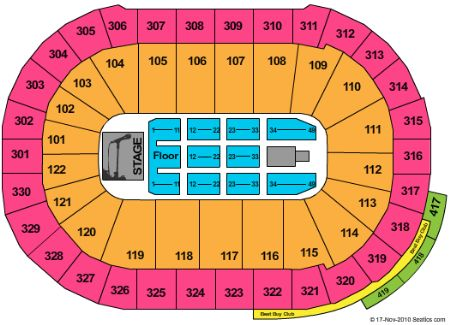 Rogers Arena Tickets and Rogers Arena Seating Chart Buy Rogers