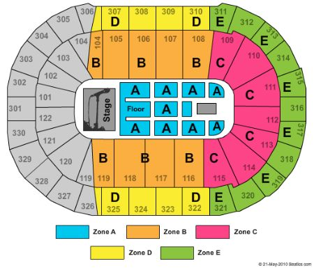 Rogers Arena Tickets And Rogers Arena Seating Chart Buy