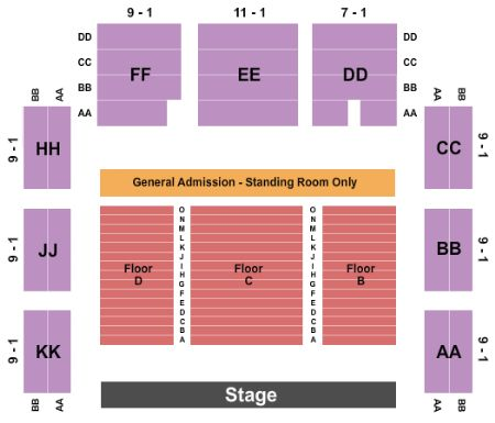 Roseland theater tickets and roseland theater seating chart buy