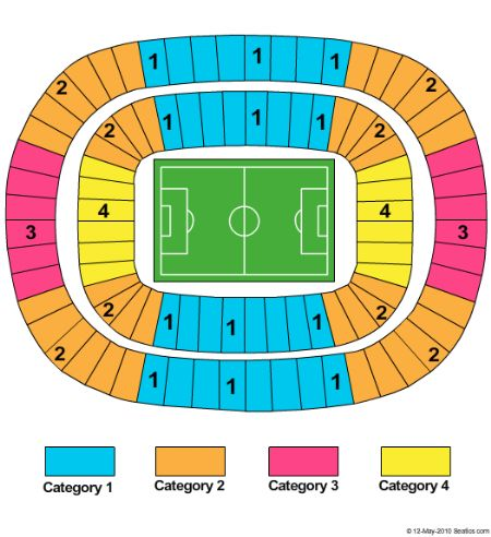 Royal Bafokeng Stadium Tickets And Royal Bafokeng Stadium Seating