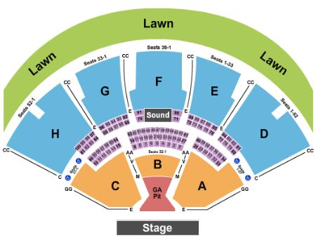 Weezer Pixies Amp The Wombats Noblesville Tickets 7 8