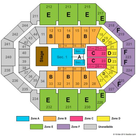 Rupp Arena Tickets and Rupp Arena Seating Chart - Buy Rupp ... Luke Bryan On Stage