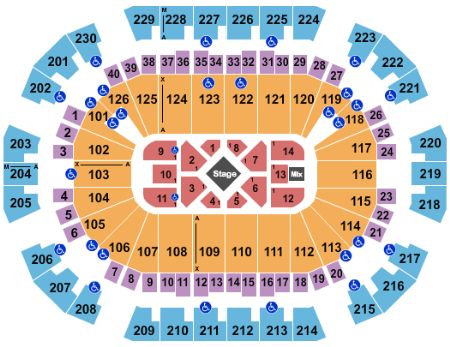 Save Mart Center Seating Chart Kevin Hart Elcho Table