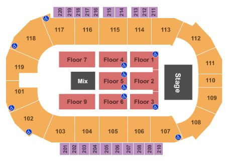 Showare center tickets and showare center seating chart buy