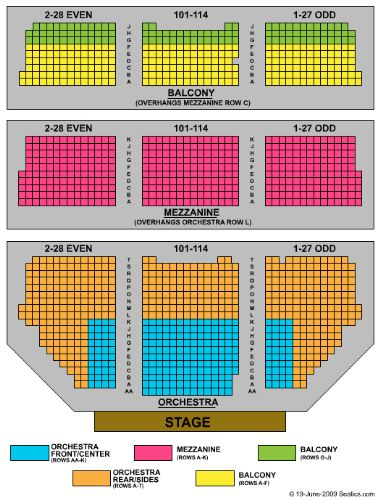 Tickets And Shubert Theatre Seating