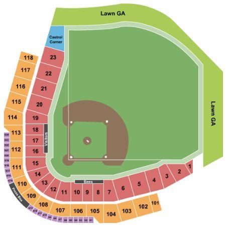 Smith S Ballpark Tickets And Smith S Ballpark Seating