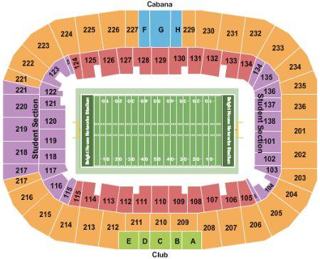 Spectrum Stadium Tickets And Spectrum Stadium Seating Chart