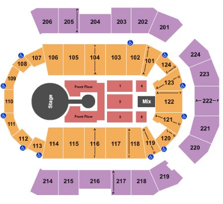 spokane arena seating map   Brokeasshome.com