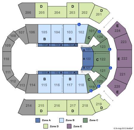 spokane arena seating chart miranda lambert: Spokane arena tickets and spokane arena seating chart buy