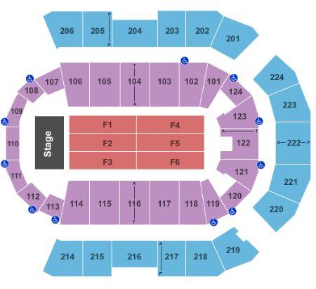 spokane arena seating chart: Spokane arena tickets and spokane arena seating chart buy