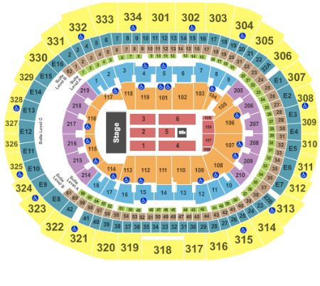 Staples center tickets and staples center seating chart buy