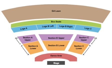 Starlight Bowl Tickets And Starlight Bowl Seating Chart Buy