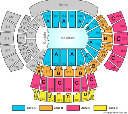 Philips Arena Tickets and Philips Arena Seating Chart - Buy Philips ...