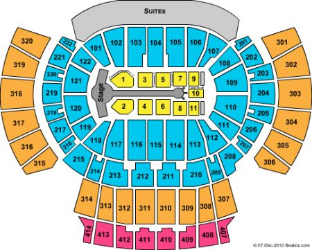 Philips Arena Tickets And Philips Arena Seating Chart Buy Philips