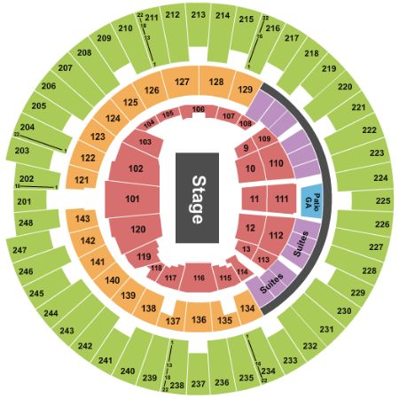 State Farm Center Tickets And State Farm Center Seating Chart Buy
