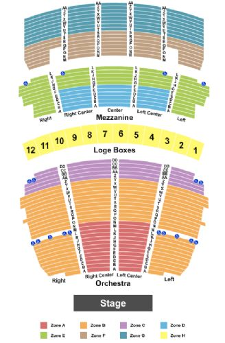 Peabody opera house tickets and peabody opera house seating chart