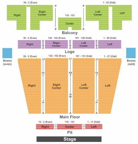 Stranahan theater tickets and stranahan theater seating chart buy