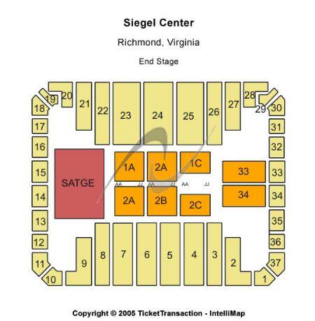Stuart c siegel center tickets and stuart c siegel center